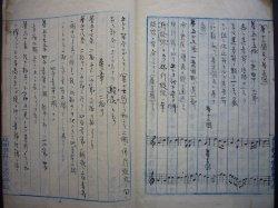 画像1: 楽典初歩  ☆明治42年に日本初のデザイン理論書とされる 『一般図按法』 を著した図案教育者・小室信蔵による肉筆書■明治30年頃