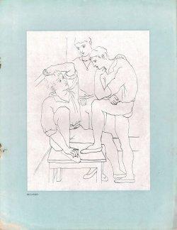 画像1: [仏] ディアギレフのバレエ・リュス公演プログラム ■ BALLETS RUSSES DE M. SERGE DE DIAGHILEW:THEATRE SARAH-BERNHARDT, MAIJUIN 1926 1926年5-6月
